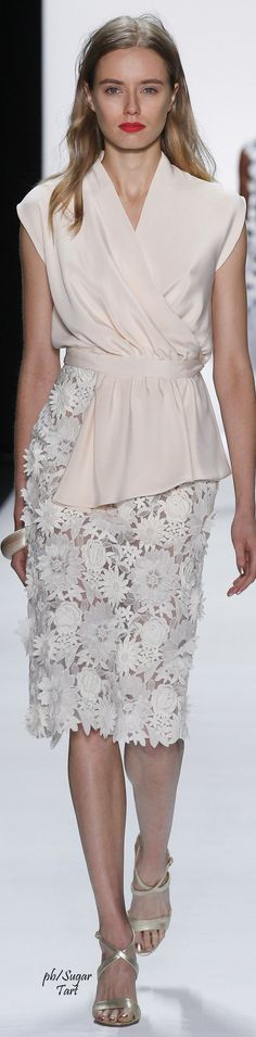 Badgley Mischka Spring 2016 RTW   women fashion outfit clothing stylish apparel @roressclothes closet ideas