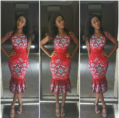 Look 2: Ngozi Elendu