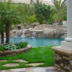 Luxury Pools. Landscaping fab.