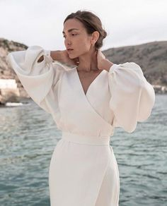 Simple Dresses, Cheap Dresses, Dresses With Sleeves, Bohemian Wedding Dresses, Best Wedding Dresses, Boho Wedding, Wedding Reception, Modest Fashion, Fashion Dresses