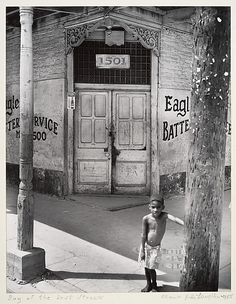 "Clarence John Laughlin, A ""Lost"" Boy, No. 1, 1955"