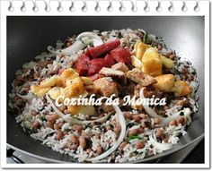 COZINHA DA MONICA: culinária nordestina - BAIÃO DE DOIS -