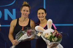 Monica NICULESCU remporte le tournoi des Internationaux Féminins de la Vienne, face à la française, Pauline PARMENTIER en deux sets, sur le score de 7-5 / 6-2. - Internationaux Féminins de la Vienne - Nov. 2015 - via ifv86.com