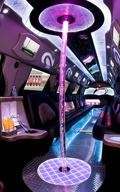 like an EPIC party bus.really want to do that againlooks like an EPIC party bus. Limo Party, Party Bus Rental, Prom Limo, Casino Party, 21st Birthday, Girl Birthday, Birthday Parties, Birthday Ideas, Bus Interior