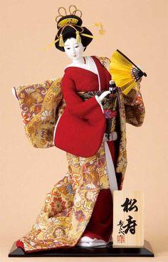 日本人形  松寿 (しょうじゅ)