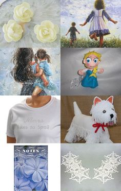 Mothers and Daughters by Carol on Etsy--Pinned with TreasuryPin.com