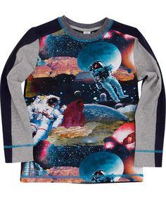 Molo trendy t-shirt voor de astronauten fans. molo.nl.emilea.be