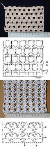 Watch This Video Beauteous Finished Make Crochet Look Like Knitting (the Waistcoat Stitch) Ideas. Amazing Make Crochet Look Like Knitting (the Waistcoat Stitch) Ideas. Filet Crochet, Crochet Motifs, Crochet Diagram, Crochet Stitches Patterns, Crochet Chart, Love Crochet, Crochet Baby, Knitting Patterns, Tutorial Crochet