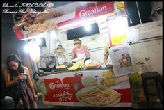 【泰國清邁】必品嚐清邁最好吃的泰國小吃Roti(香蕉煎餅) @ 小盛的流浪旅程 :: 痞客邦 PIXNET ::