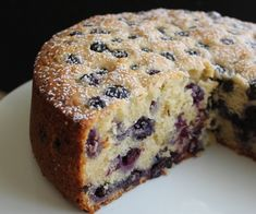 Blueberry Lemon Ricotta Tea Cake ) ) Soft, tender lemon ricotta tea cake full of bursting fresh blueberries, with a hint of lemon. An easy recipe perfect for afternoon teatime. Tea Cakes, Food Cakes, Cupcake Cakes, Blueberry Cake, Blueberry Recipes, Just Desserts, Delicious Desserts, Dessert Recipes, Lemon Ricotta Cake