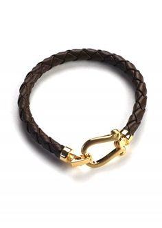 Eloquent Equestrian Bracelet: Brown