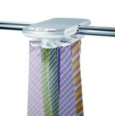 HUGOGATE - Superpraktischer elektronischer Krawattenhalter für 30 Krawatten - coolstuff.de