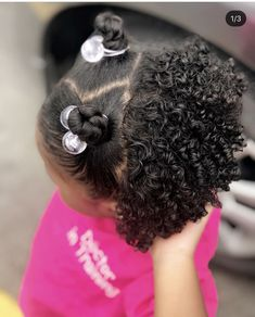 Mixed Baby Hairstyles, Little Girl Braid Hairstyles, Cute Toddler Hairstyles, Cute Hairstyles For Kids, Girls Natural Hairstyles, Curly Hair Baby, Hair Styles, Babies, Beautiful