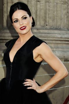 Lana Parrilla at the ouat season 4 premiere.  Ummmmmmm yah this is just beyond not fair. Could she possibly be more stunning