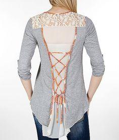 back top Pieced Shirt