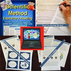 Help students understand the scientific method by reading these short expository summaries and then answering some leveled questions to show their understanding. Perfect for common core science literacy standards