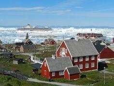 """Ilulissat es un lugar en medio de la nada, y sin embargo, no faltan atractivos, como la casa museo del nativo Knud Rasmussen, el fiordo de Ilulissat, declarado Patrimonio de la Humanidad, algunos asentamientos abandonados en cercanías, y claro, los paisajes que seguramente se encuadran en la categoría """"probablemente nunca vimos nada igual"""""""