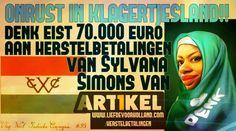 DENK eist 70.000 euro HERSTELBETALINGEN van Sylvana Simons en Artikel 1 - Liefde voor Holland