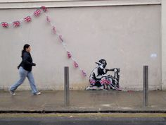 street art Olympics London 2012 Banksy