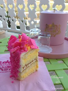 The famed Madonna Inn pink champagne cake, by Bouquets and Baguettes. Cute Food, Good Food, Pink Champagne Cake, How Sweet Eats, Along The Way, Vanilla Cake, Madonna, Sweet Tooth, Bakery