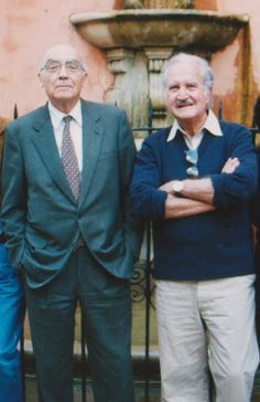 José Saramago and Carlos Fuentes