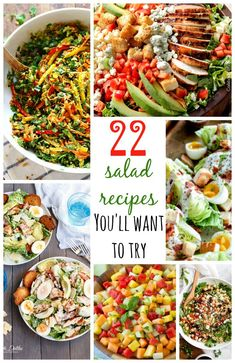 22 Salad Recipes You