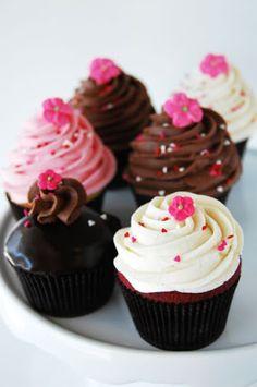romantic cupcakes - Buscar con Google