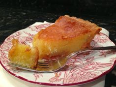 SoulfoodQueen.net: Chess Pie
