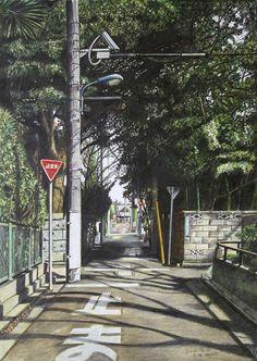 「緑の隧道 中野区白鷺」/「林 亮太」のイラスト [pixiv]