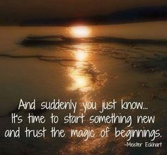 TRUSTING YOUR INSTINCTS. start something new life quotes quotes quote life quote changes experience