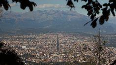 Veduta di corso Francia dalla Basilica di Superga - Torino