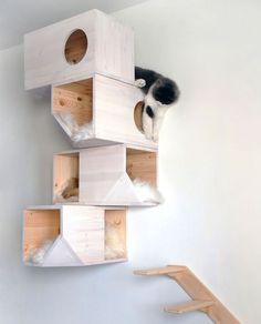 The Evolution of a Homemade Cat Tower || Having a lazy weekend..