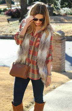 Plaid Fur