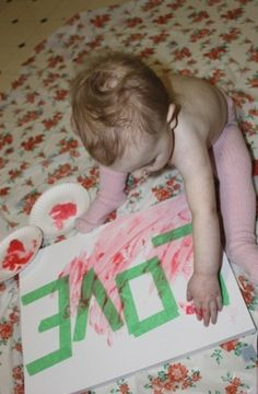 Schilderij met tape afplakken