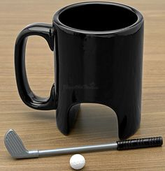 Just when you tought you've seen everything: The coffee mug for golf lovers.