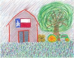 abstract-art-print-texas-barn-glicee