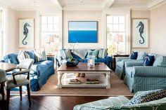new england coastal design Home Design, Beach Interior Design, Coastal Interior, Design Ideas, Coastal Decor, Coastal Cottage, Modern Coastal, Cottage Living, Design Styles