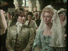 Francis Poldark (Clive Francis) y Elizabeth Chynoweth (Jill Townsend). Poldark 1975