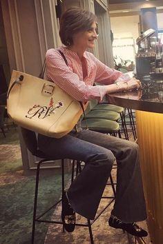 Ines de la Fressange (@inesdelafressangeofficial) sur Instagram : « Breakfast in Versailles @lelouisversailles @mgalleryhotels #mgallerymoments #Versailles #sunnyday » ~ Follow my board (La Parisienne @ Lyne Labrèche) for more inspiration!