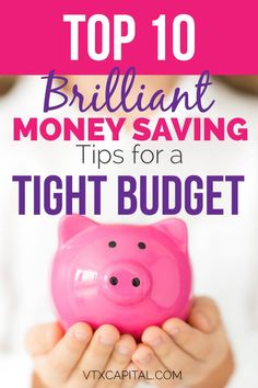 These tips are AMAZING! I am shocked at how much money I was able to save with these 10 BRILLIANT money saving tips.