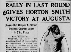 1936 Masters: Horton Smith wins second Masters; Becomes 1st multiple Masters winner