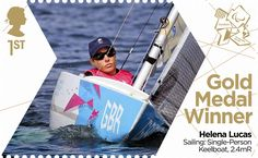Helena Lucas: Sailing #SpecialStamp from 2012 #Paralympics #RoyalMail