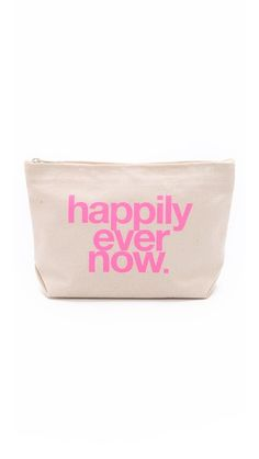 Dogeared Happily Ever Now Pouch