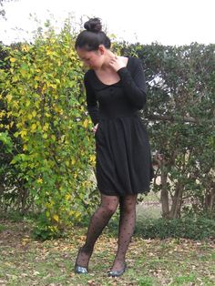 Vivatveritas : Petite robe noire …. makes me think of Autumn and a nice pair of soft grey boots