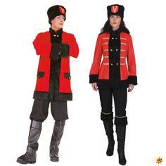 Partnerlook Kostüm Kosake und Kosakin