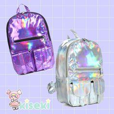 Hologram Backpack - Harajuku, Soft Grunge, Pastel Goth - FREE SHIPPING · Kiseki · Online Store Powered by Storenvy