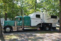 Peterbilt Truck Camper Big Rig, http://www.truckcampermagazine.com/camper-lifestyle/big-rig-truck-camper-build