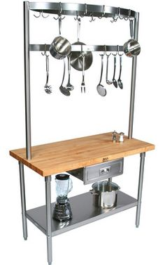 Great when there is limited Kitchen Storage and Workspace