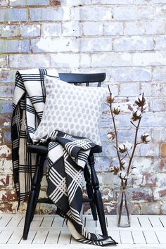 Throws and cushions are available on www.torimurphy.com; perfect for Christmas gifts and winter
