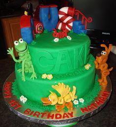 word world cake - love it!